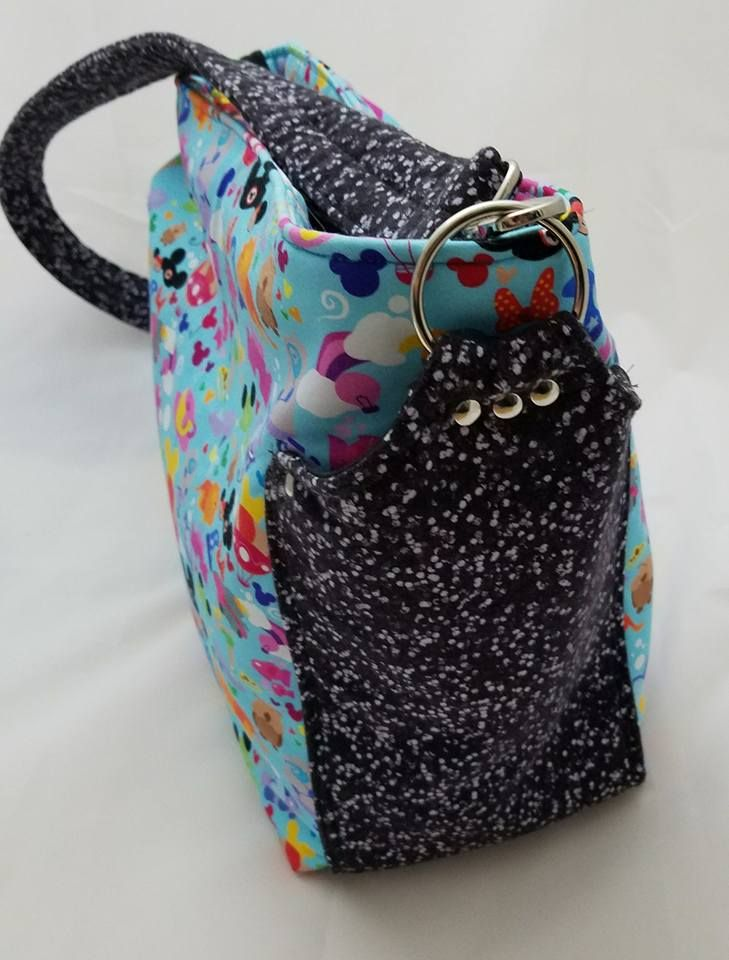 I love making custom purses, but when a customer sends me their 'special' fabrics, I only have a small panic attack that I'm going to irrepa...