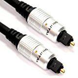 1m/MCH1M Digital Optisches TOS link Toslink Kabel für-Sonos Playbar Soundbar und Wireless Lautsprecher