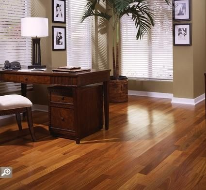 Brazilian Walnut is very popular for flooring, and you can be sure it will offer you awesome strength as a flooring surface as well. It's wonderful shade is spectacular and is certain to offer any atmosphere with a heated sensation.