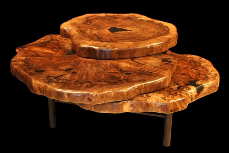 65 best burls wood crafts images on pinterest tree for Tree coffee table