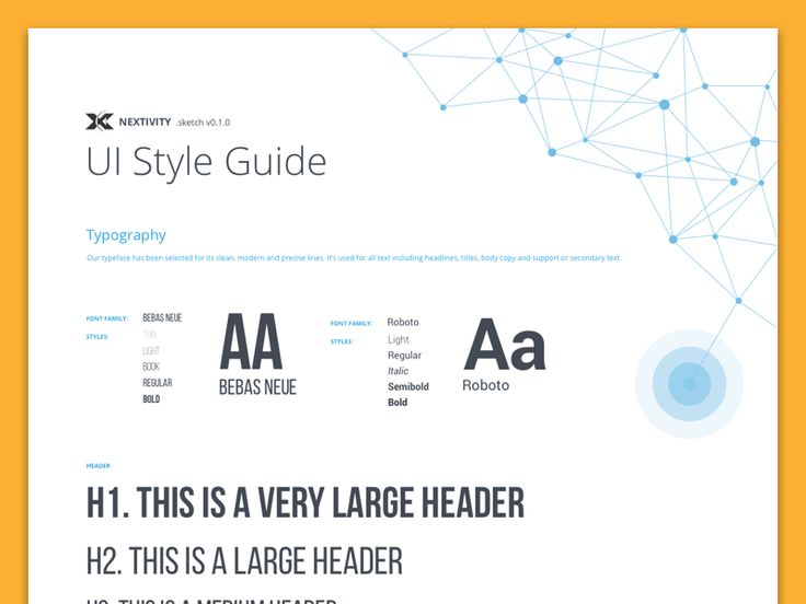 Nextivity Style Guide