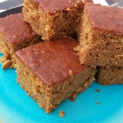 Pumpkin Squares - (replace vegetable oil w/ applesauce) Allrecipes.com