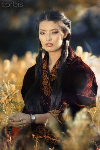 young hot mongolian beauty