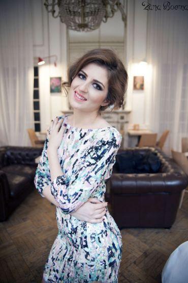 Rochie cu paiete Blumarine pentru Revelion | Zâna Boemă Sequin party dress Blumarine