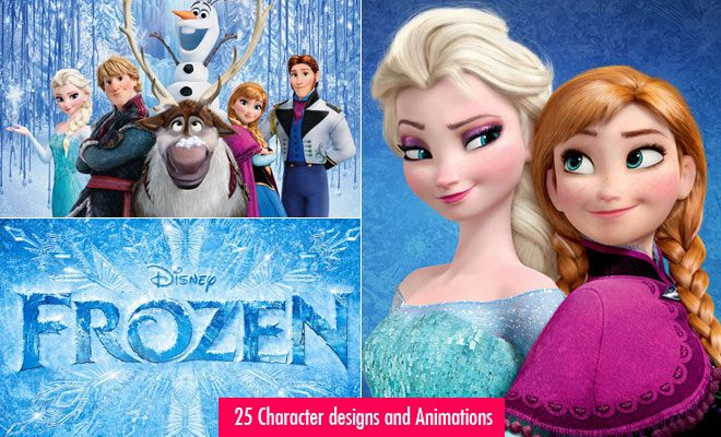 Disney Frozen - 25 Character designs and Animations from latest animation movie. Read full article: http://webneel.com/disney-frozen-trailer-wallpaper | more http://webneel.com/3d-characters | Follow us www.pinterest.com/webneel