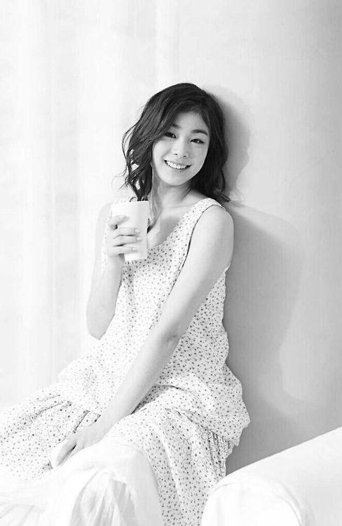 Yuna Kim #lovely smile :)