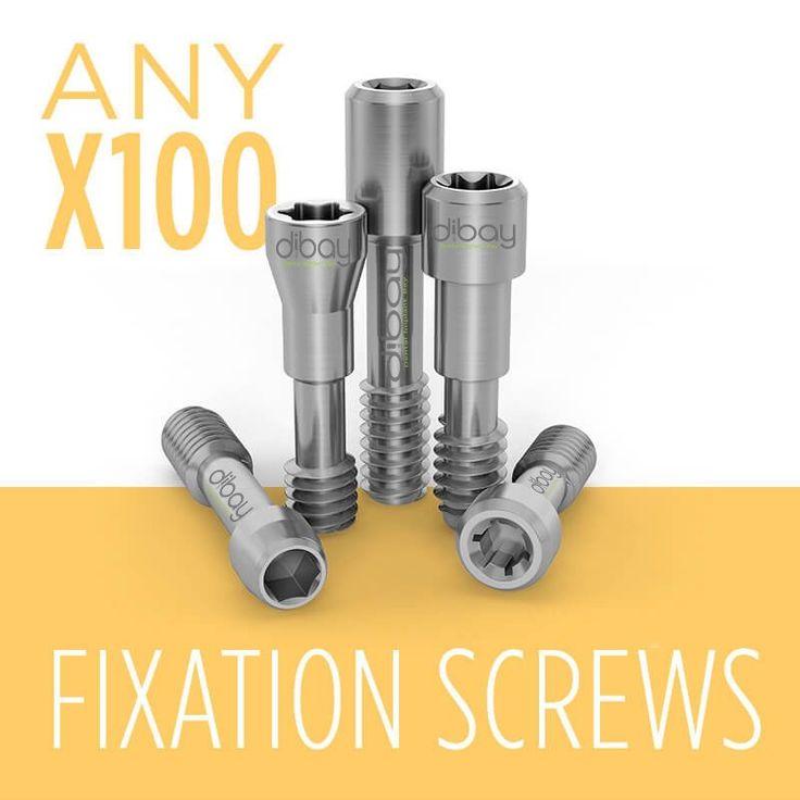 100 x Viti di Fissaggio in Titanio per qualsiasi sistema di connessione – FORMATO CONVENIENZA!