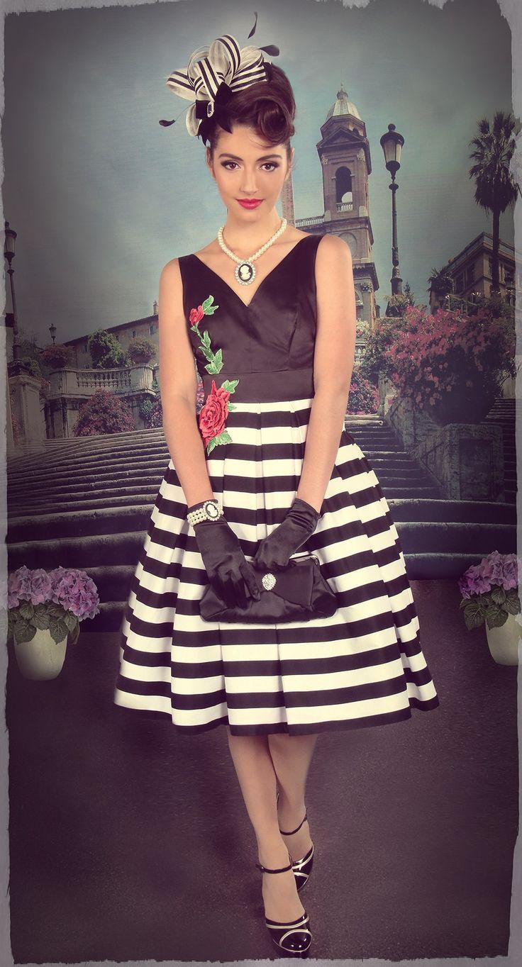 Riviera Stripe Dress