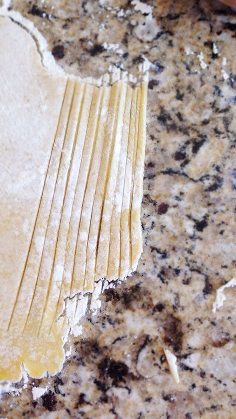 How to make gluten free noodles without using a pasta maker- so easy and they taste so good! Using this for my chicken noodles soup!