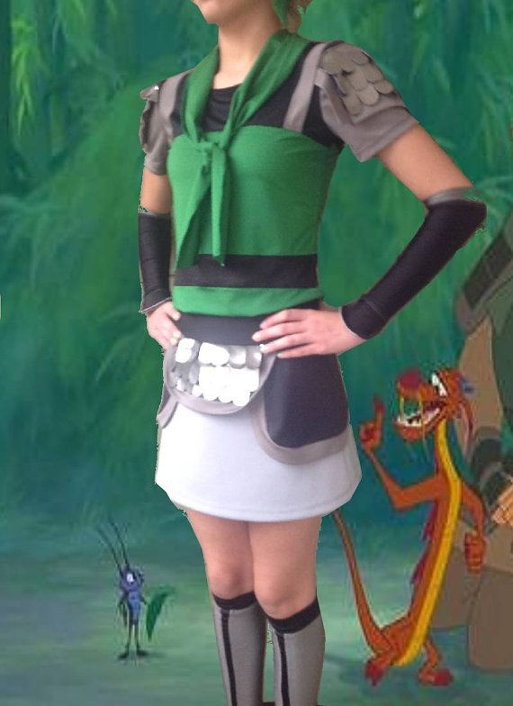 Mulan as Ping inspired complete running outfit by iGlowRunning, $180.00  If I ever do a Disney Run I'm buying something from them!!!!