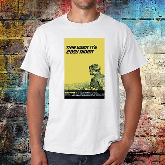 Easy rider Tshirt Motorbike Harley shirt Cult Film Jack