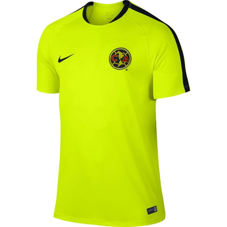 Nike Club America Flash Top - Volt/Black