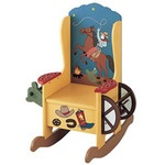 The Western Wooden Potty Chair for Boys or Girls