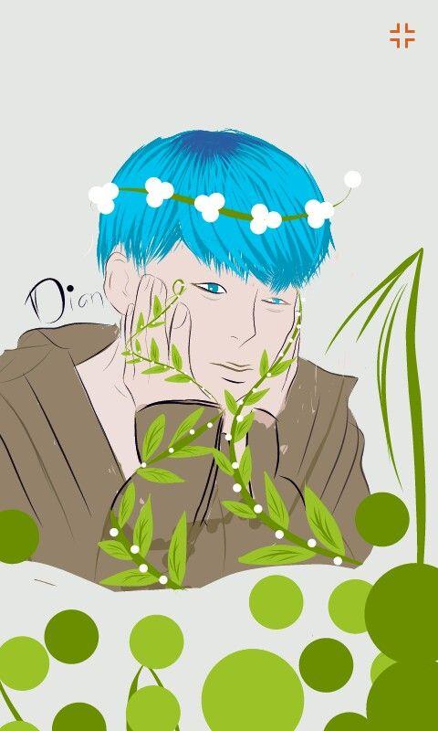 Fanart Jimin BTS x Earth Day  #Fanart #Jimin BTSt Fanart by: @dii_nta