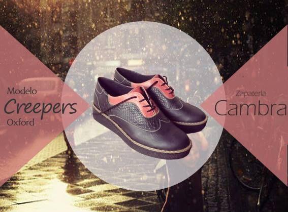 modelo Oxford Creepers 100% cuero http://zapateriacambra.cl/