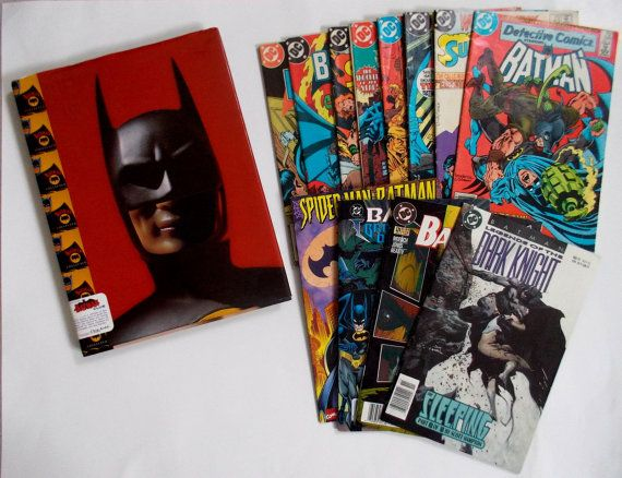 BATMAN Collection of Books: Batman Collected by by chromeCHARM