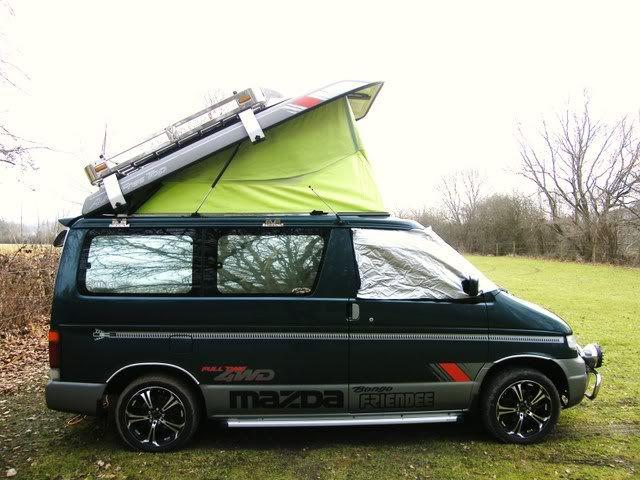 tailgate ladder - Mazda Bongo Forum