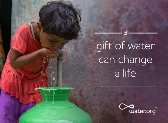 Give water in honor of someone's special day. | Send an eCard through Water.org | http://water.org/ecards