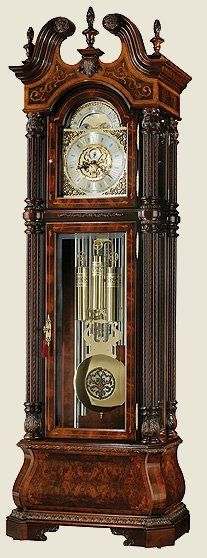 Howard Miller - Limited Edition Grandfather clock.  I would love one of these (ok a cheaper version as this is on SALE....for 17,955.00 - but you get FREE shipping lol)