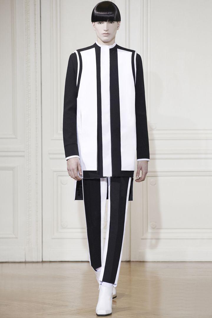 RAD HOURANI UNISEX HC LOOK 15 HI Rad Hourani Spring/Summer 2013 Haute Couture