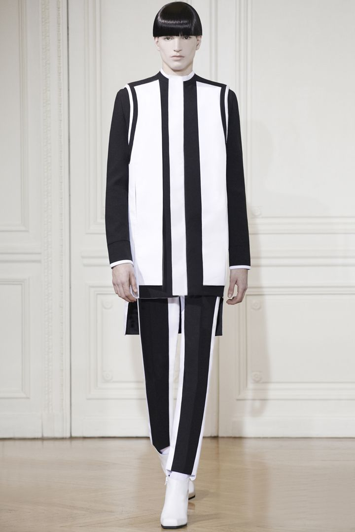 RAD HOURANI UNISEX HC LOOK 15 HI Rad Hourani Spring/Summer 2013 Haute Couture