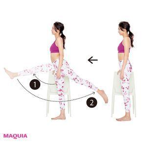 アラフォーでも結果が出る!太もも張りもみるみる変わる美脚トレーニング | MAQUIA ONLINE(マキアオンライン)