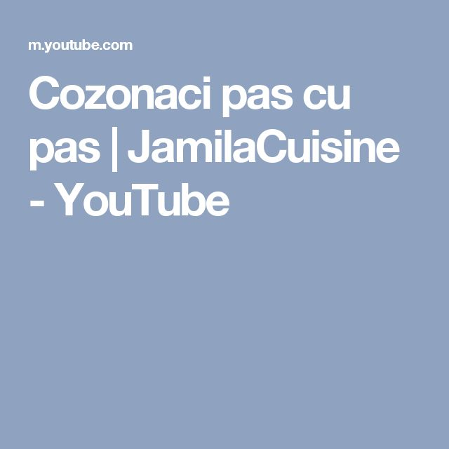 Cozonaci pas cu pas | JamilaCuisine - YouTube