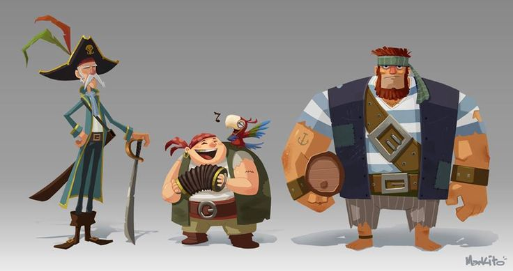 Art - Characters, Pirates