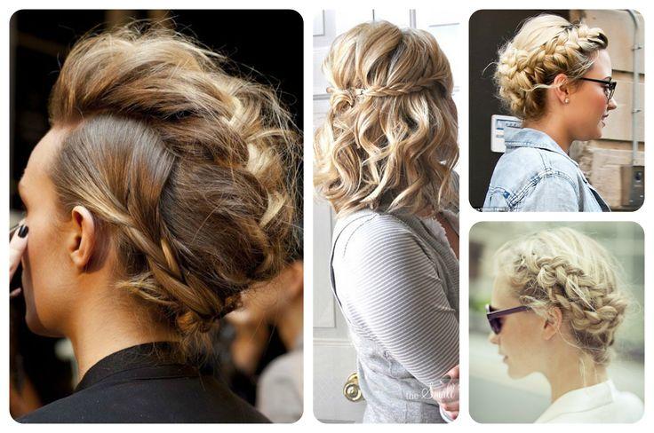 Recogidos informales con trenzas #braid #haistyle #peinados