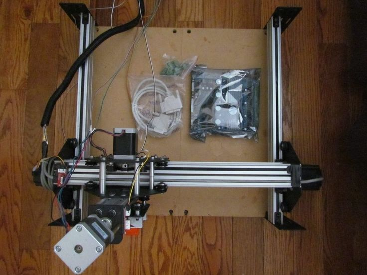 Shapeoko 2 assembled CNC Mill + PC+ 4 axis controller+TR45 Ryobi router+Bits
