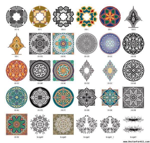 arabesque-clipart-vector-6