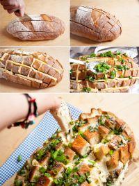 Cocinar recetas de Pan al Horno con Queso *.*