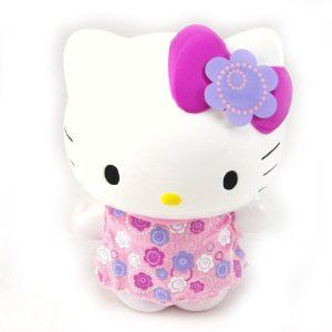 """Statuette bath gel """"Hello Kitty"""". by Hello Kitty. $25.00. Original idea that this statuette bath gel """"Hello Kitty"""" with her little flower dress to make bath time a moment of pure pleasure. . . Plastic statuette 3d, 19x13. 5x10. 5 cm (7. 48''x5. 31''x4. 13''). [Ref. F3248]"""