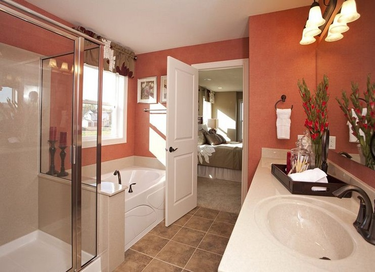 Old Centex Homes Floor Plans: From Getting Ready To Giving Baths, The Bathroom Is An