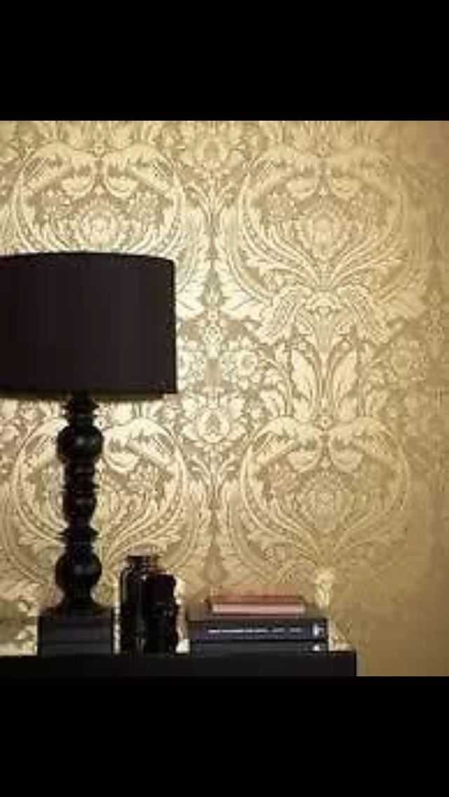 41 best Metallic Wallpaper: TREND images on Pinterest | Tapestries ...