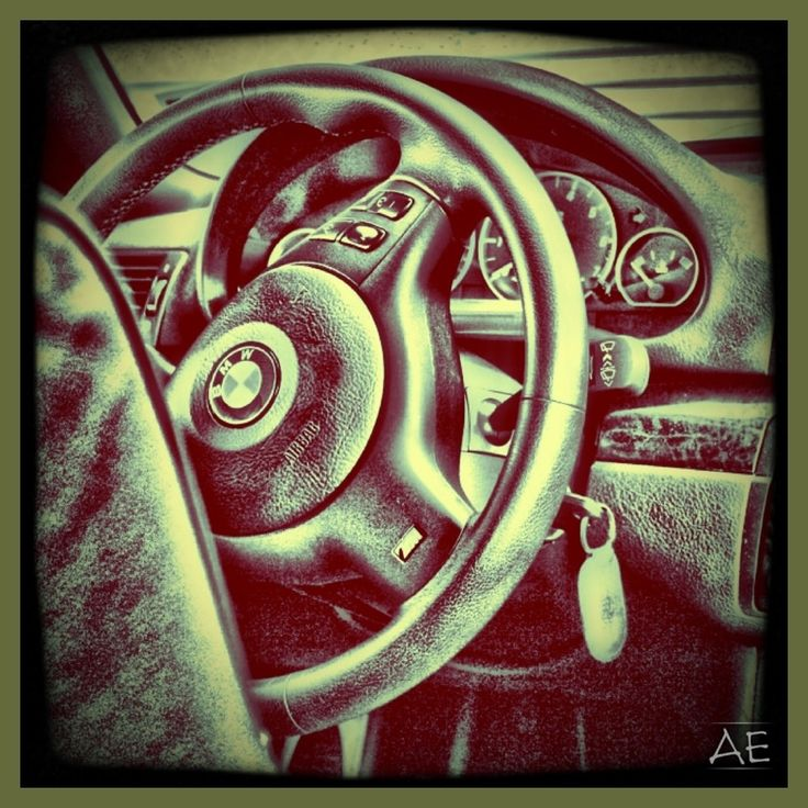 BMW Interior by AngelEowyn
