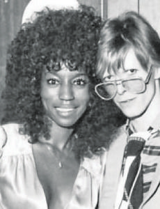 Claudia Lennear and David Bowie.