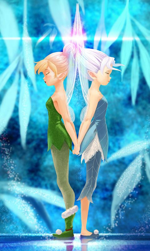 Tinkerbell and Periwinkle by Tokunaga [©2014]