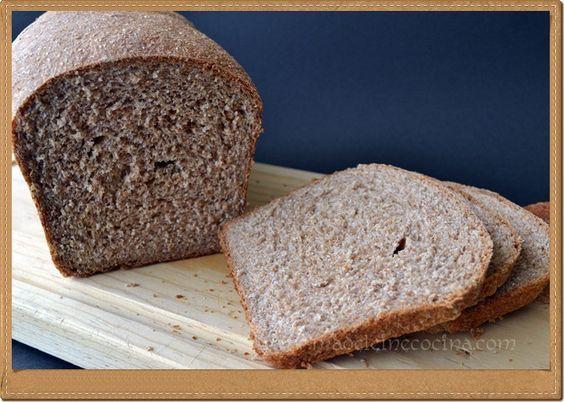 Pan de barra 100% integral HECHO EN CASA