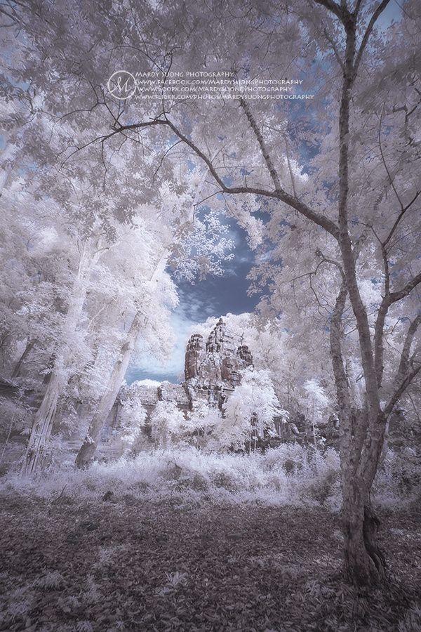 The Hidden Gate in Infrared! ខ្លោងធ្វារអង្គរធំ by Mardy Suong Photography on 500px