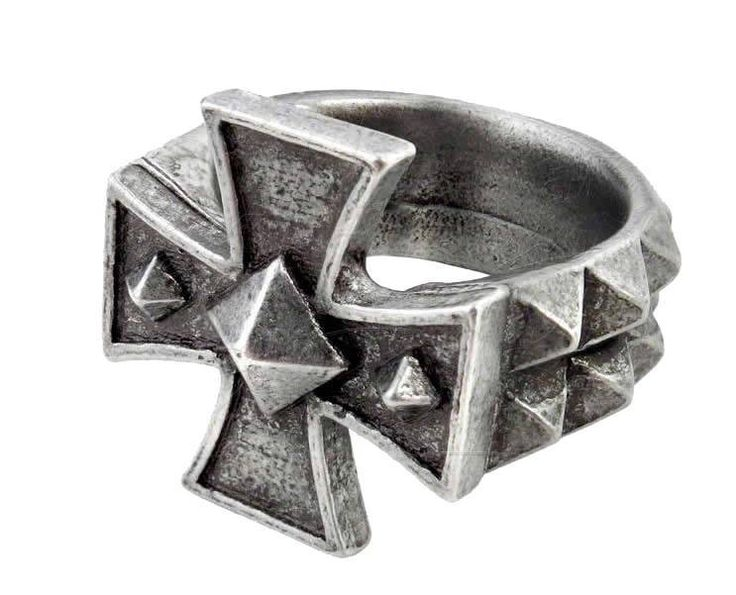 Purple Leopard Boutique - Cross of Iron Ring Pewter Alchemy Gothic Jewelry R196 Germanic Cross, $30.00 (http://www.purpleleopardboutique.com/cross-of-iron-ring-pewter-alchemy-gothic-jewelry-punk-rock-r196-germanic-cross/)