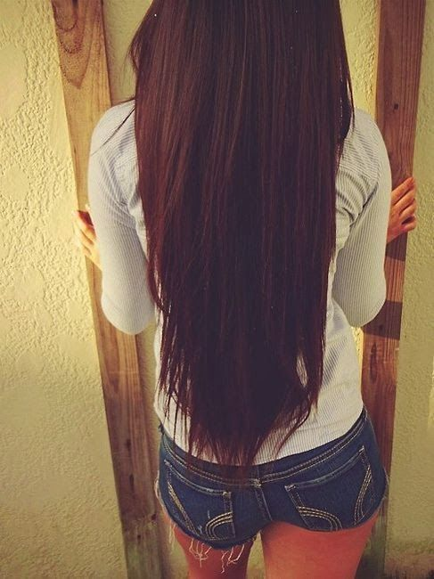 long brown hairstyle! love this straight hair! Color