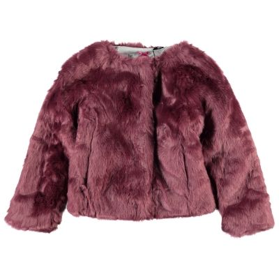 IKKS Vest | Wintercollectie 2015 | www.kleertjes.com #kinderkleding #babykleding #kids #fashion #fake #fur #trends #nepbont #imitatiebont