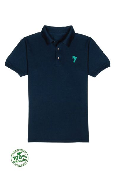 Man Organic Polo - New AM Logo