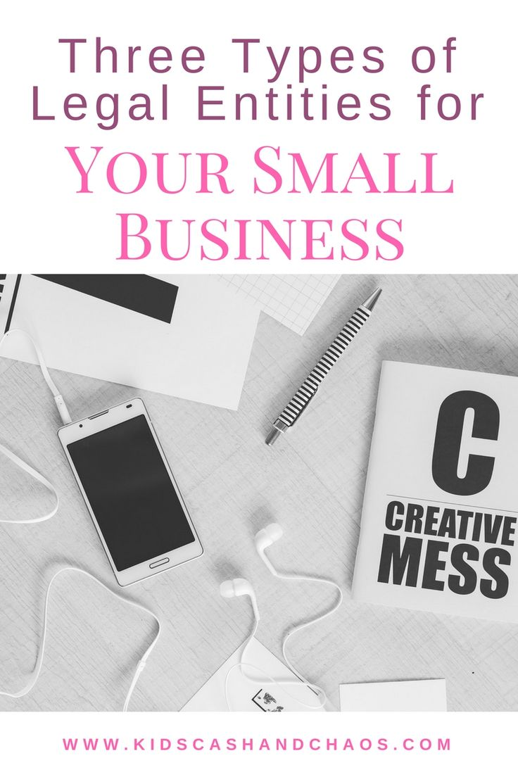 How to form a legal entity for your small scale business