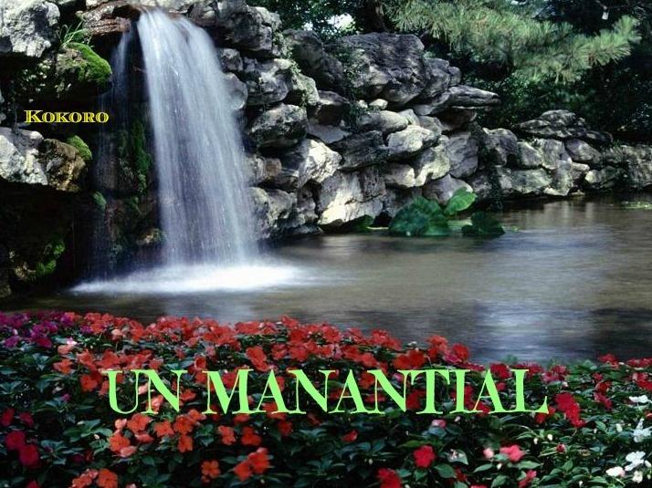 UN MANATIAL...poema. …de @kokoroalma y @esveritate http://esveritate-laverdad.blogspot.com.es/2013/04/un-manantial.html