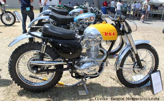 bsa 441 grand prix bsa motorcycle pictures classic