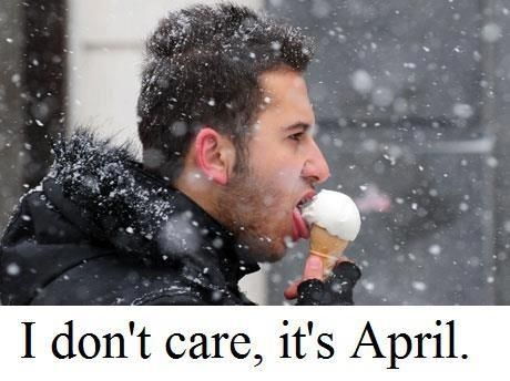 If you haven't done this then your not Canadian. My family always walks to get ice cream even in the snow.