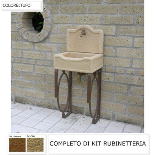 12 migliori immagini lavandini da esterno su pinterest lavanderia cucito e giardino - Lavandino esterno pietra ...