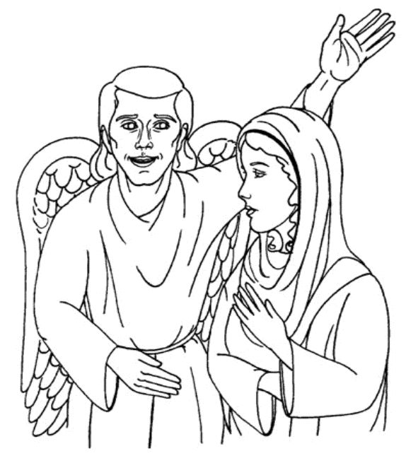 bible coloring pages jesus birth - photo#18